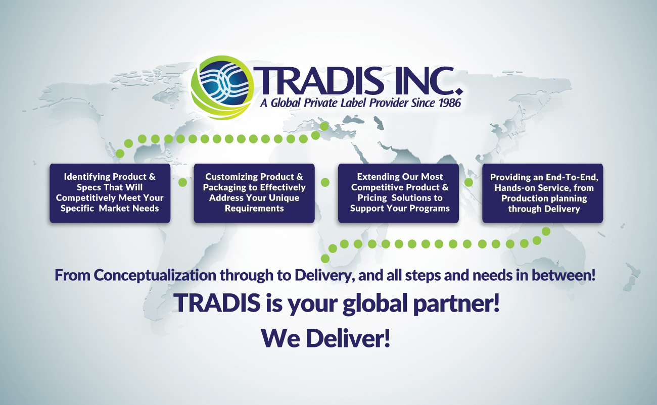 Tradis - Global Private Label Provider